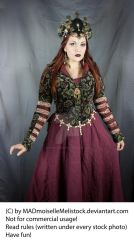 Medieval Fantasy Priestress Stock 001 by MADmoiselleMeliStock