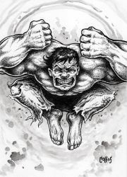 The Incredible Hulk by bryancollins