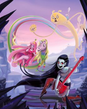 AdventureTimeFan ART web by Alejandra-Colunga