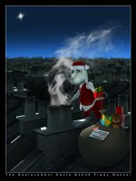 The Replacement Santa by Fredy3D
