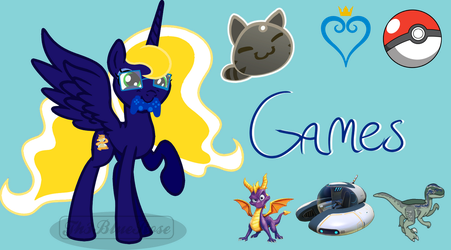 Games - Twitch Panel by Th3BlueRose