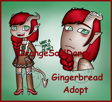 Gingerbread Draw to Adopt (CLOSED) by Adopt-From-Frog