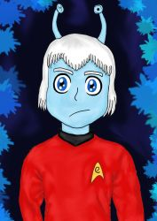 Andorian Officer by princessofvernon