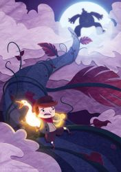 Jack and the Beanstalk by tom-monster