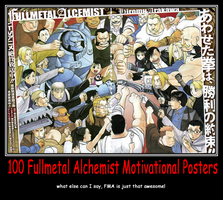 Motivational FMA 100 by xxRedDragoonxx