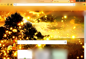 Google Chrome Applejack Theme by Acinoriv8