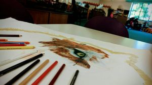 Drawing in Public is the Scariest thriller ever by Luna-Tech-art