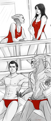 Mass Effect - Baywatch by pic-char