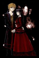 Perfect Girl Sunako and Kyohei by AngelinaCullen
