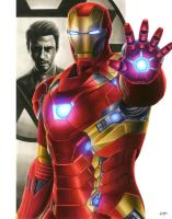 Civil War: Iron Man by smlshin