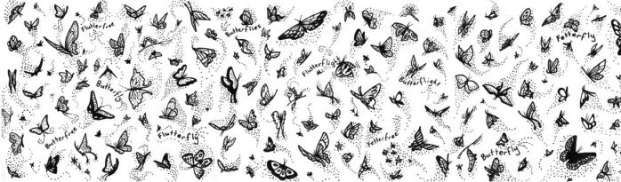 Butterflies by Sarzcoo