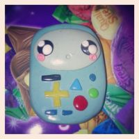 Adventure Time clay Baby Bmo by sheamoonie