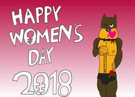 Happy Women's Day 2018 by tillamillasilla