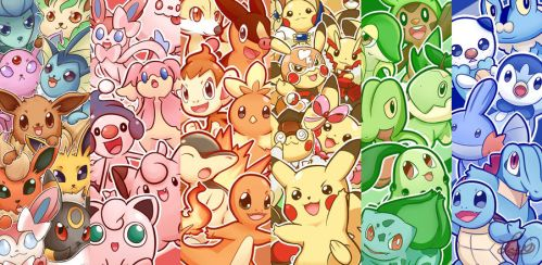 Lots'a Pokemon! by Lui421
