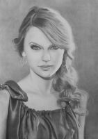 Taylor Swift Portrait by Fabryart93