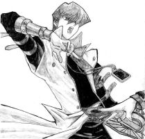 Penciled Kaiba by rebelsolo83