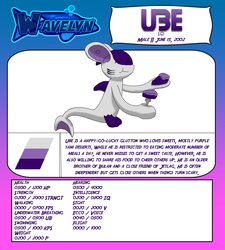 Wavelyn Character: Ube by Skyblue2005