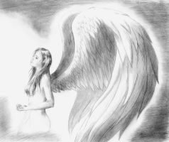 Sad Angel by genevi