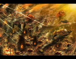 Battle Los Angeles 2 by SaturnHaynes