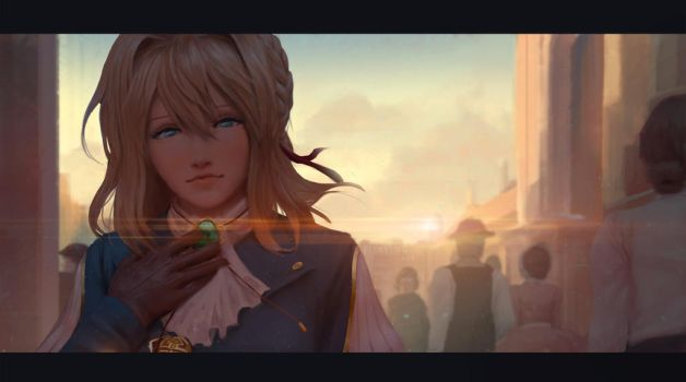 Violet Evergarden by Fierying