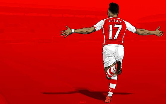 Alexis Sanchez by BOArtt