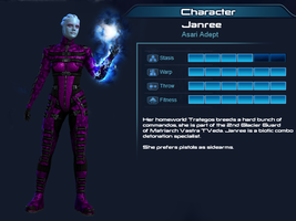 ME3 Multiplayer OC part 1 - Janree the adept by Taleeze