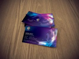 Electronica business card by Lemongraphic