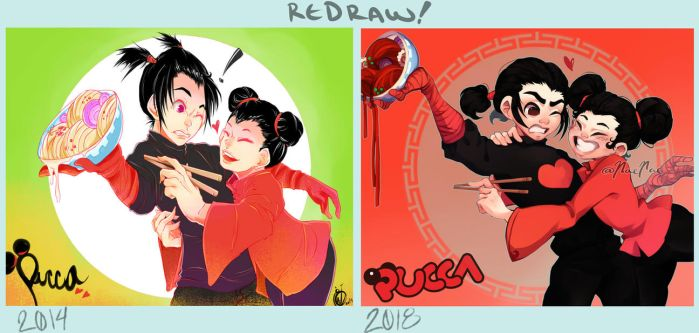 180322: Pucca 2018 Redraw by n43n43