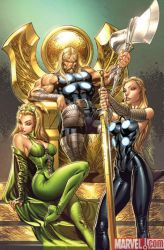 ULTIMATE COMICS THOR 1 cover by J-Scott-Campbell