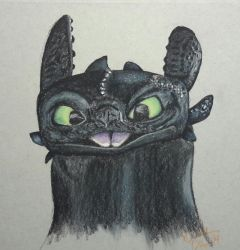 Toothless by mayhemcamaro