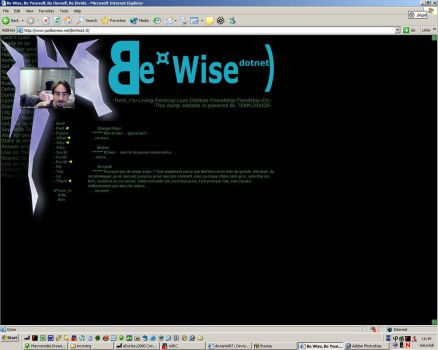 JustBeWise v1 by trem-r