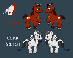 Ponysona Ref Sheet by VampyKit