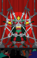 DC Animated Universe Mister Miracle #1 by joshzerogears