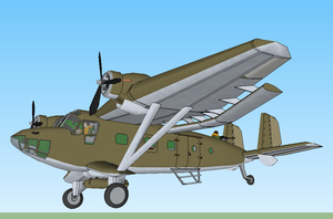 Wings over Aiers: the Cyrtavia Tonde Model 1 by kanyiko