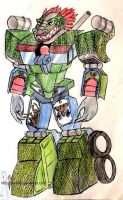 transformers: tlaloc by puticron