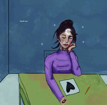 GIF - Day dreaming short animation by ClaireDe-Luna