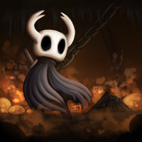 Hollow Knight Painting by Arvemis
