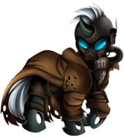 Comm: Fallout Changeling by pridark