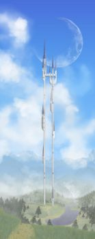 Tower in the Clouds by victoth