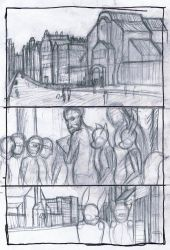 Issue 2: Page 2 layout sketch by Benjamin-the-Fox
