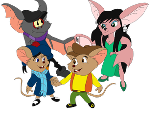 Fidget and Olivia with Cecelia and Timmy by disneyfangirl774