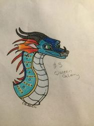 H-a-D #3: Queen Glory by Dragontooth150
