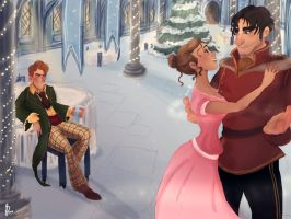 The Yule Ball by Prydester