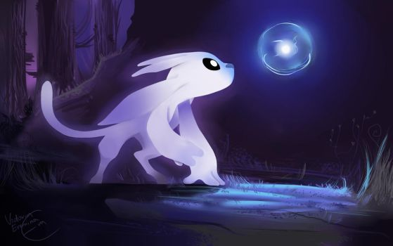Ori and The Blind Forest - Ori and Sein by SP-hera