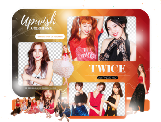 TWICE PNG PACK #10/Dance The Night Away by Upwishcolorssx