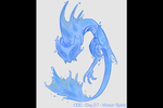 CDC - Day 27 - Water Spirit by mel-de-ly