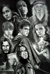 Harry Potter by JAF-Artwork