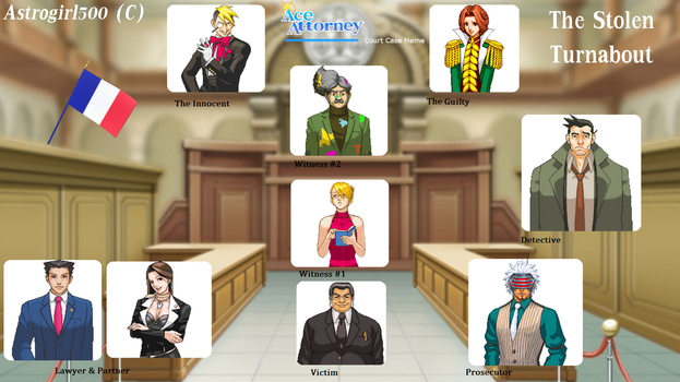 Remake Ace Attorney : LA VOLTE-FACE VOLEE by Astrogirl500