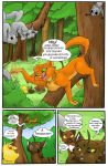 TDC: Claws and Nuts Pg2 by StrixMoonwing