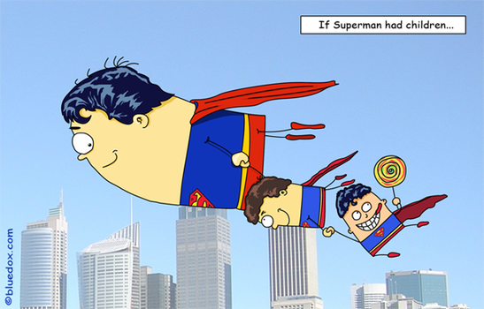 If Superman had kids... by m26gil